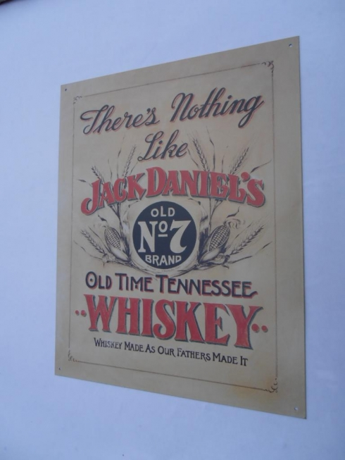 Jack Daniels There's Nothing Like Advertising Sign