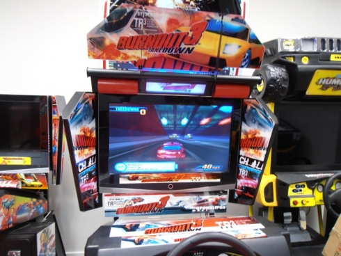 Burnout 3 Brand New Dedicated Driving Machine